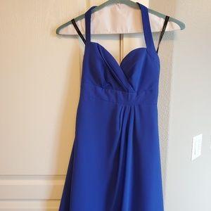 Halter top formal dress
